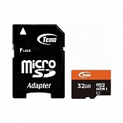 Память: TEAM GROUP TUSDH32GUHS03 microSDHC 32GB